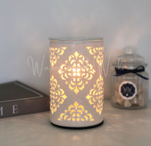 Load image into Gallery viewer, Damask Electric Wax Warmer IMPERFECT - Waxes and Wicks