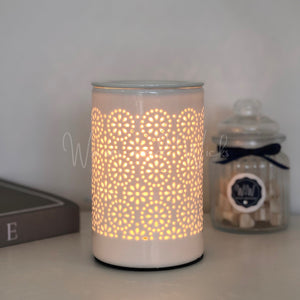 Flower Circle Electric Wax Warmer IMPERFECT - Waxes and Wicks