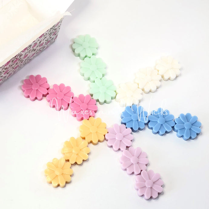 Flower Wax Melts Gift Box - Waxes and Wicks