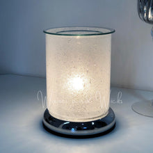 Load image into Gallery viewer, Frosted Pearl Wax Warmer Electric Lamp - Waxes and Wicks