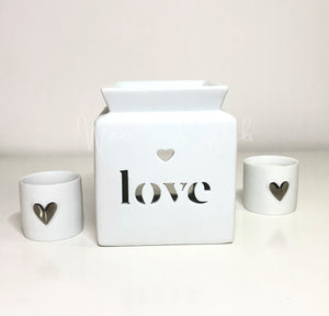 Love Wax Warmer IMPERFECT - Waxes and Wicks