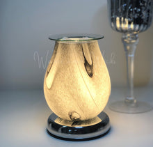 Load image into Gallery viewer, Marble Wax Warmer Lamp Electric - Waxes and Wicks