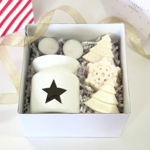 Starter Kit Christmas Gift Box - Waxes and Wicks