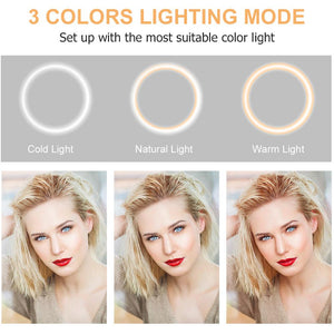 10 Inch  26CM  Ring Light with Stand - Popular Gadget Fun