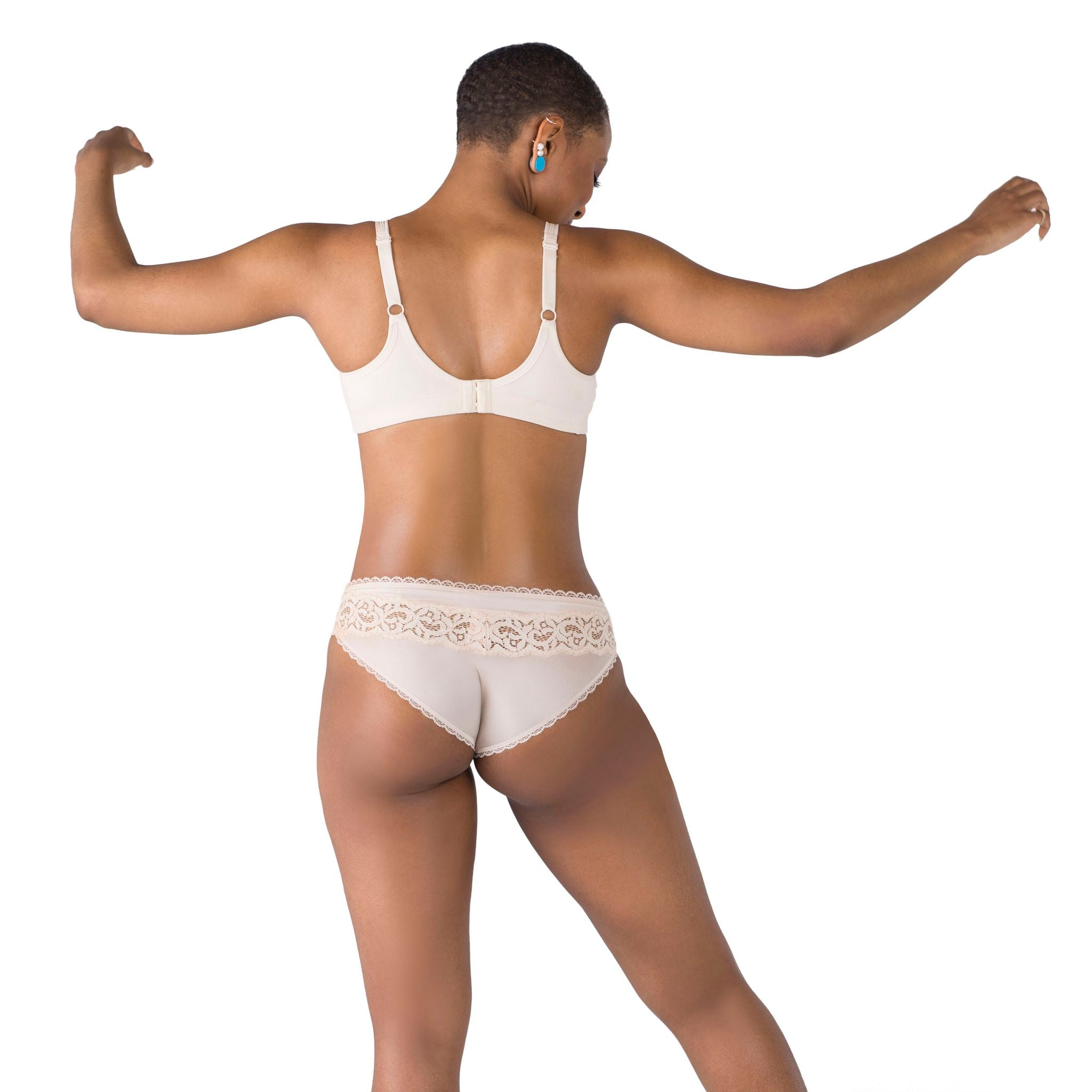 High Progress No-Bulge Underwire Sport and Everyday Bra