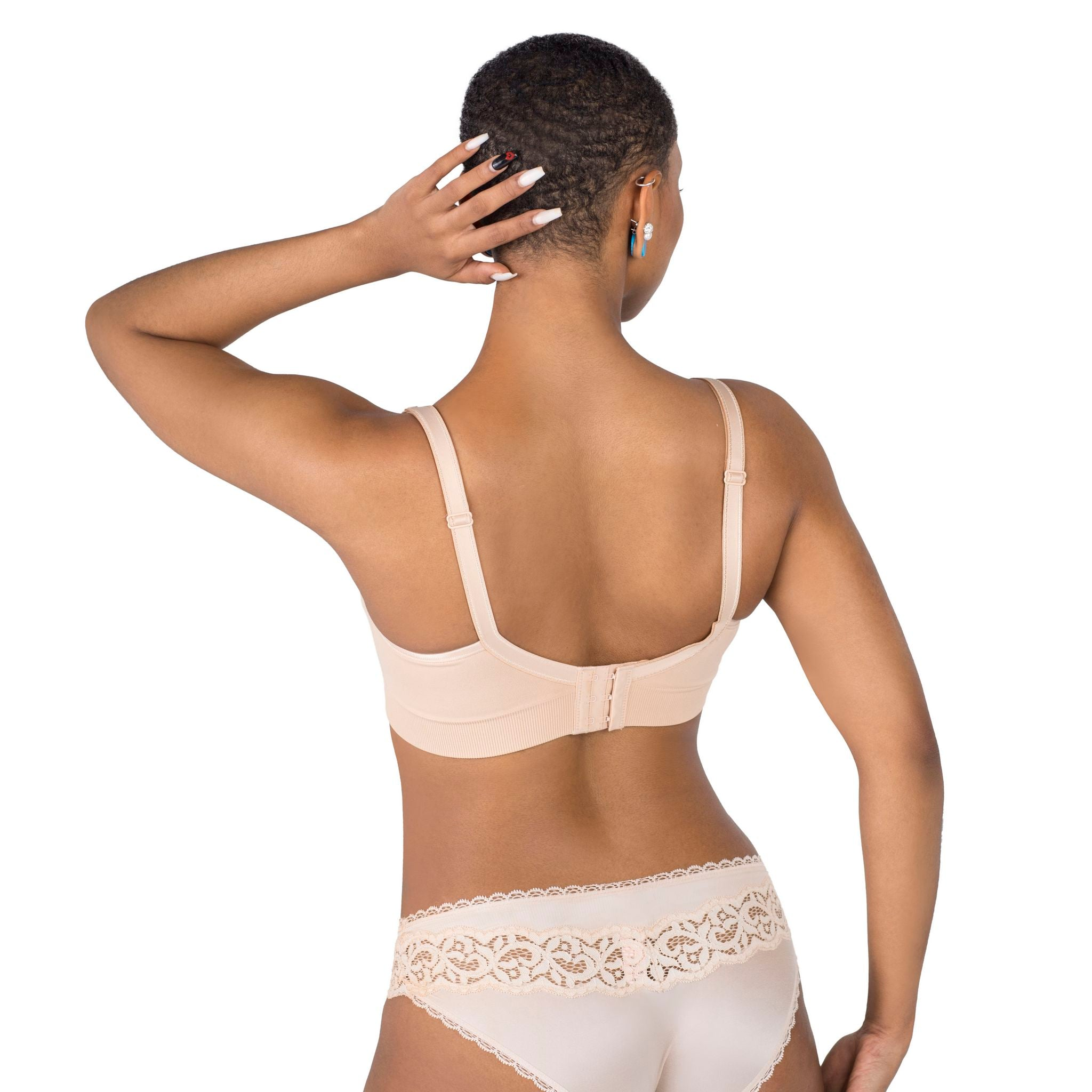 Double Hook Nursing Bra with Reminder Clip