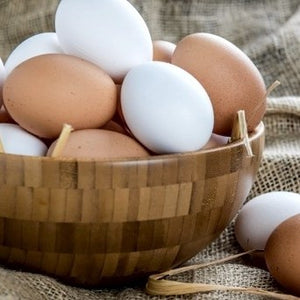 Eggs - Local, organic free range eggs - XL