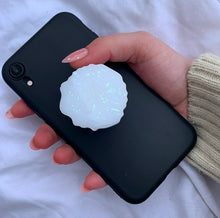 Load image into Gallery viewer, AGATE WHITE OPAL POP SOCKET
