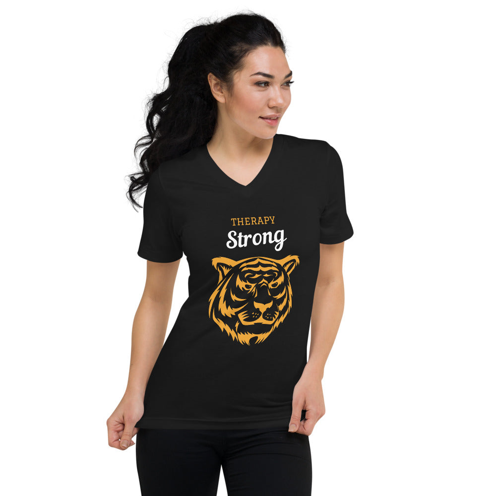therapy strong v-neck