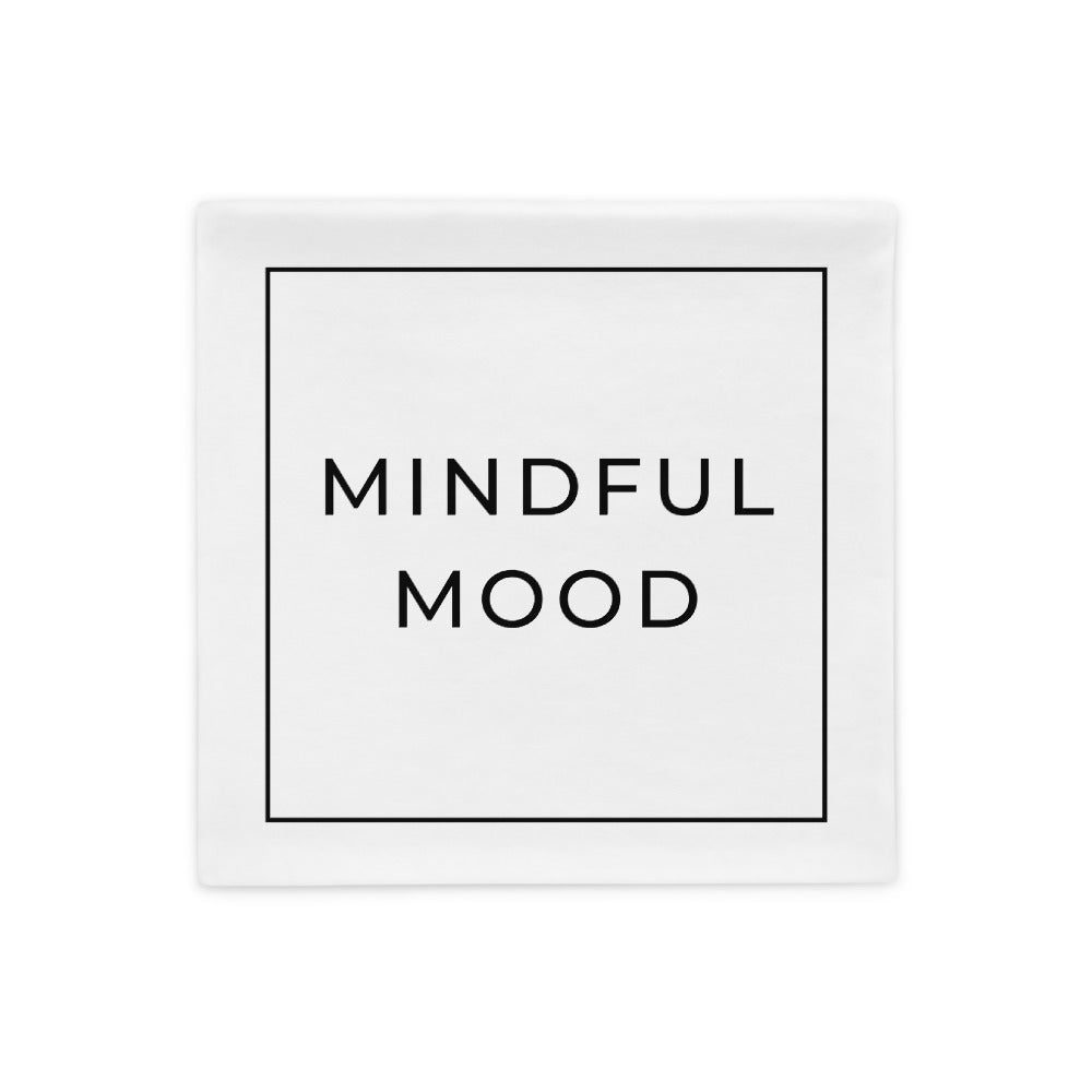 mindful mood pillow case