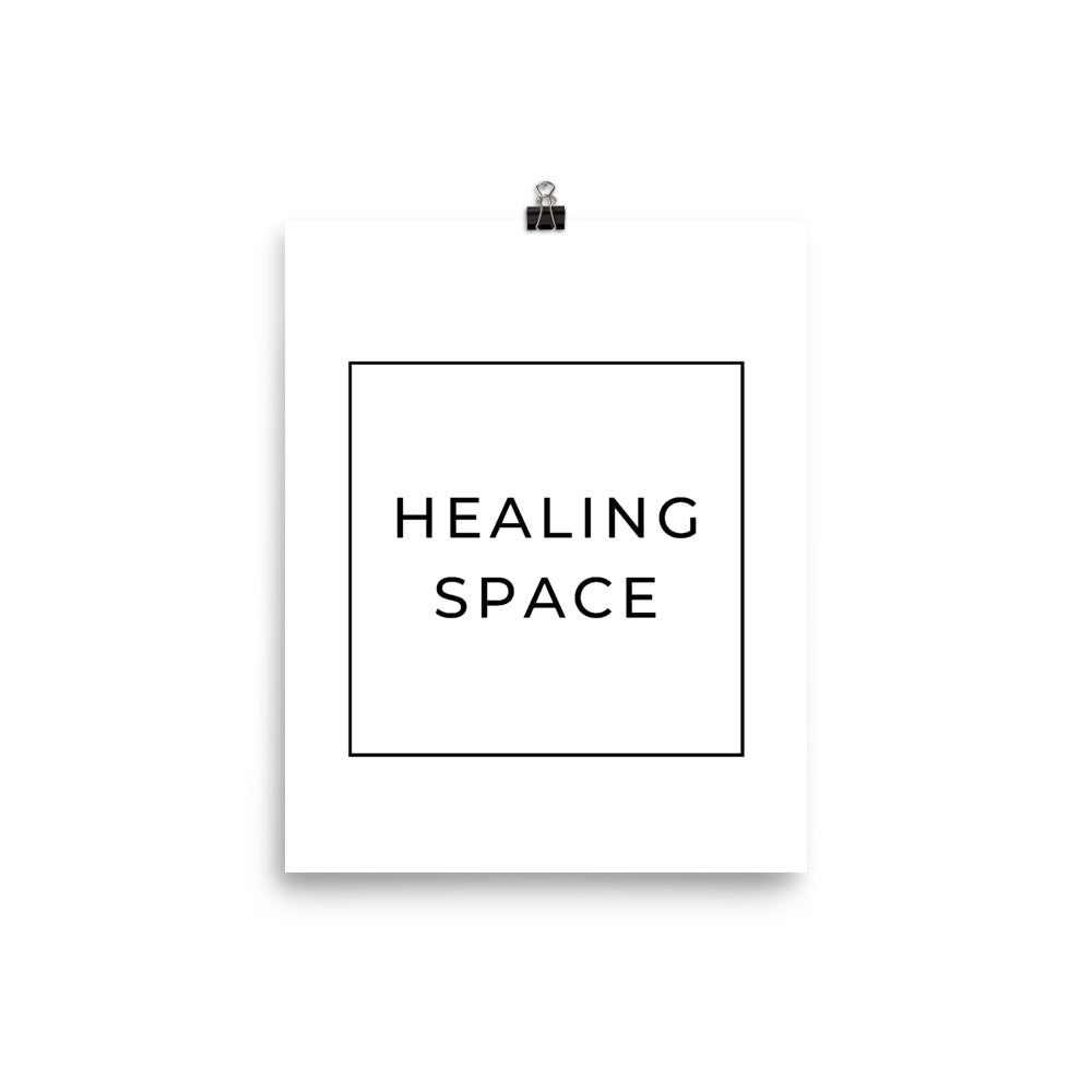 healing space poster