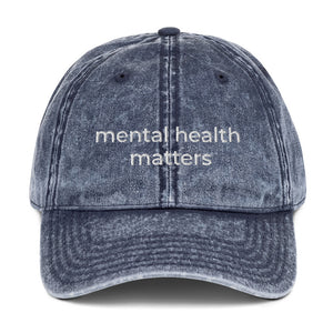 mental health matters cap