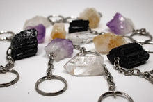 Load image into Gallery viewer, Amethyst Crystal Keychain