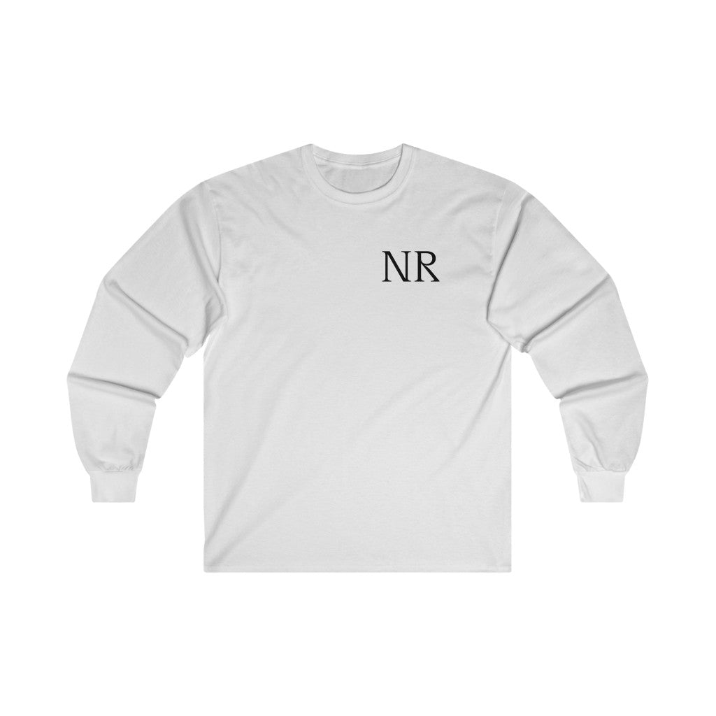NR (Long Sleeve Tee) White