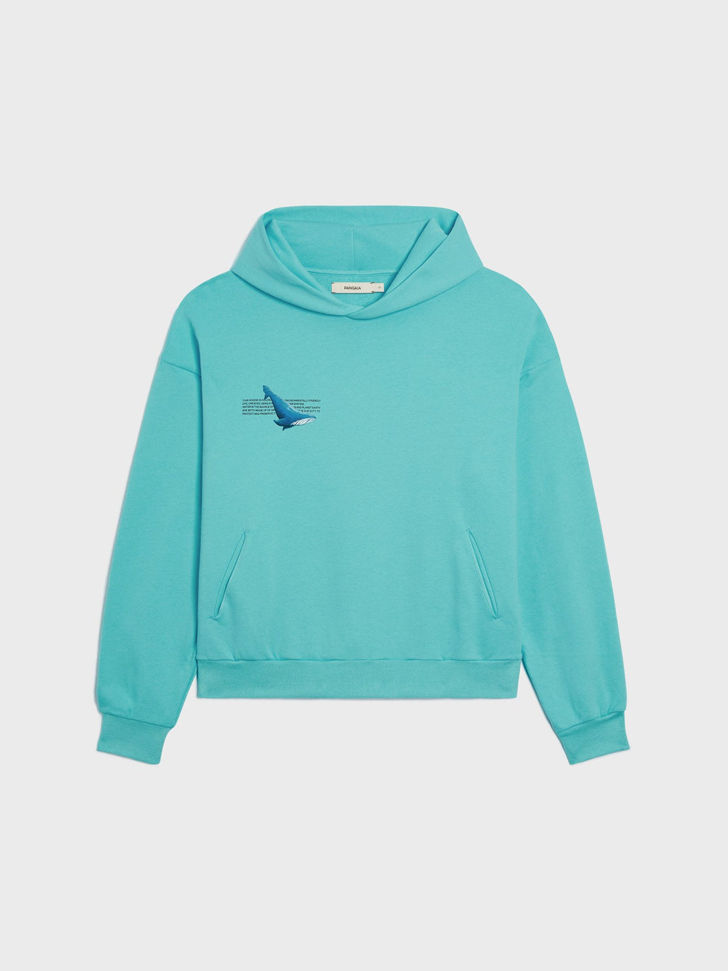 WAHP Whale Organic Cotton Hoodie—Indian Ocean