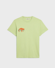 Load image into Gallery viewer, WAHP Leopard Organic Cotton T-Shirt—Fern Green