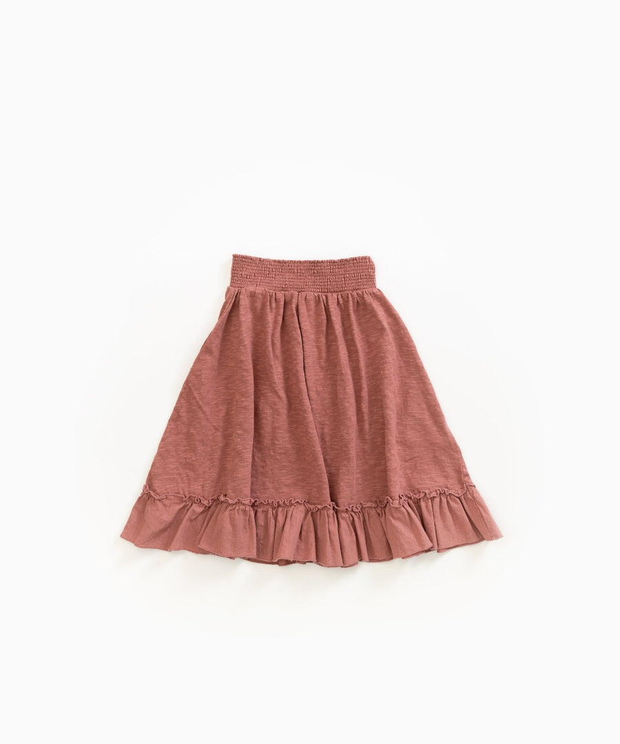 Play Up Organic Cotton Old Tile Rust Skirt