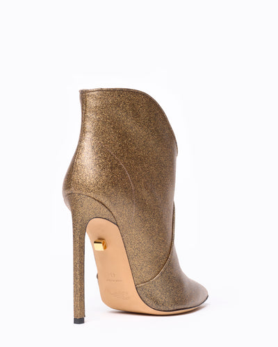 Astrid high-heel calfskin low-cut boots