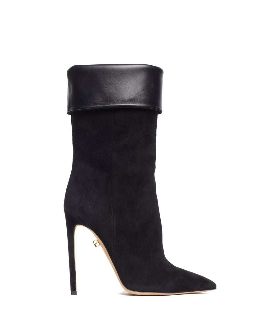Sofia high-heel suede boots