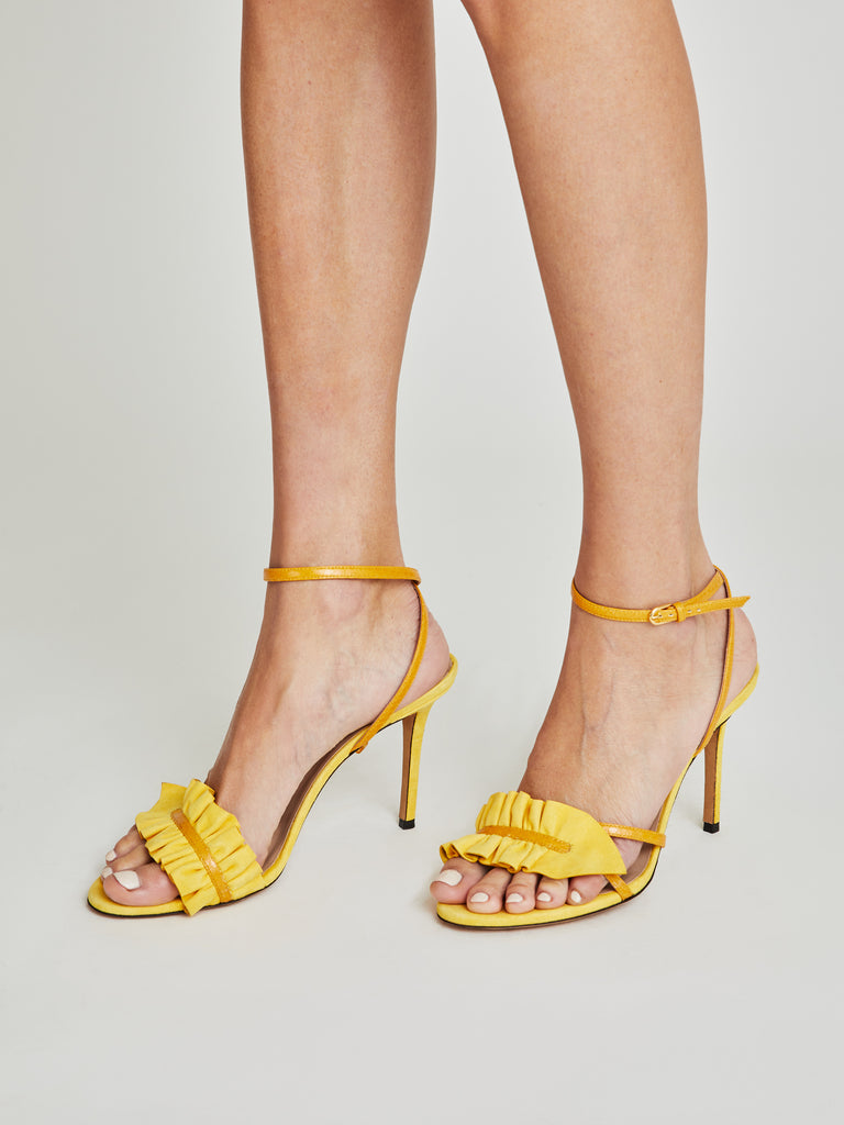 Almudena high-heel suede sandals