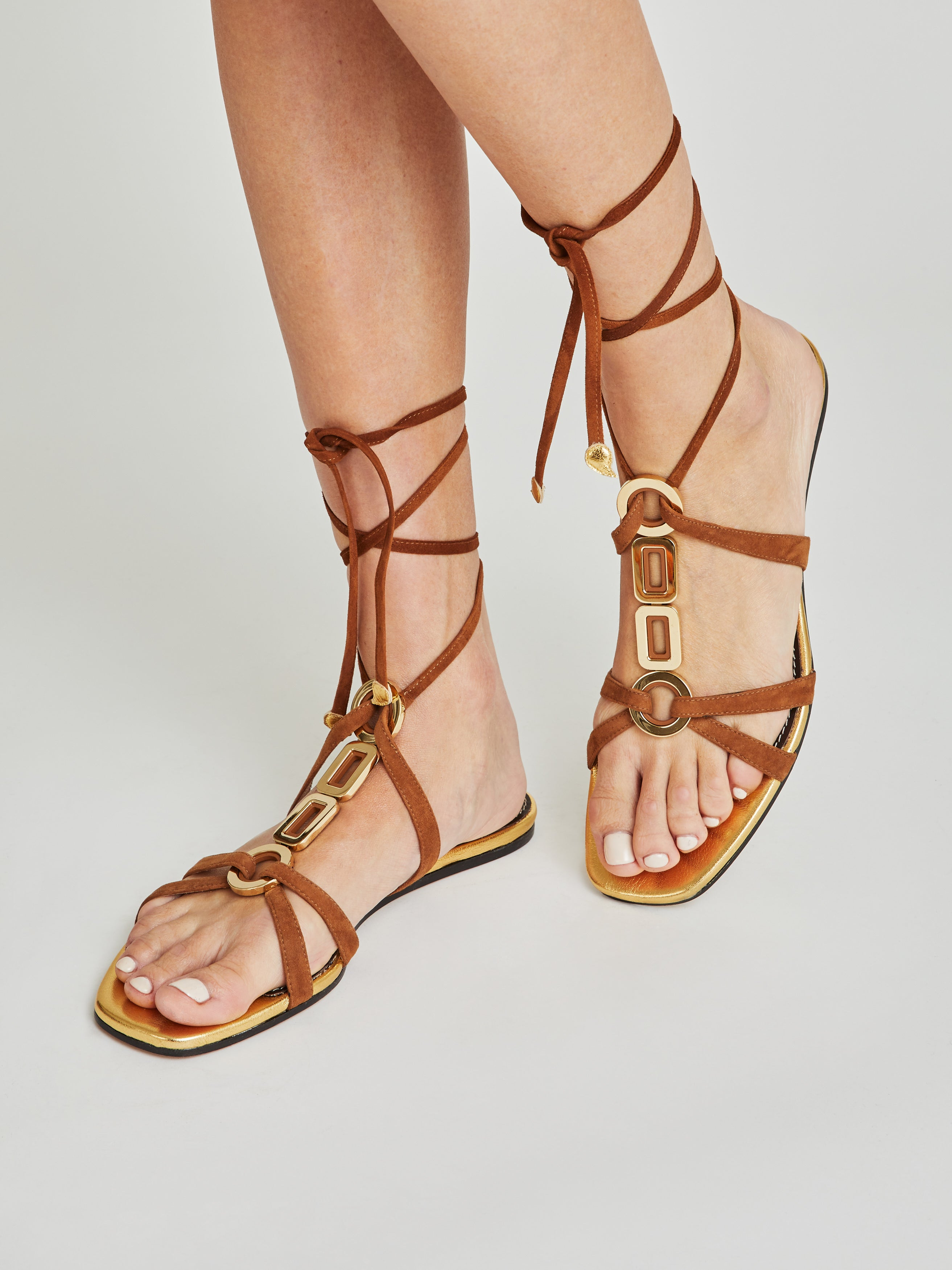 Cathy Suede Sandals