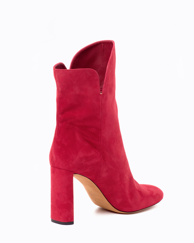 Gabriella suede high-heel ankle boots