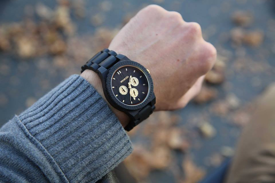 An Eco-friendly Lifestyle with the Kappa Black/Gold RO Watch