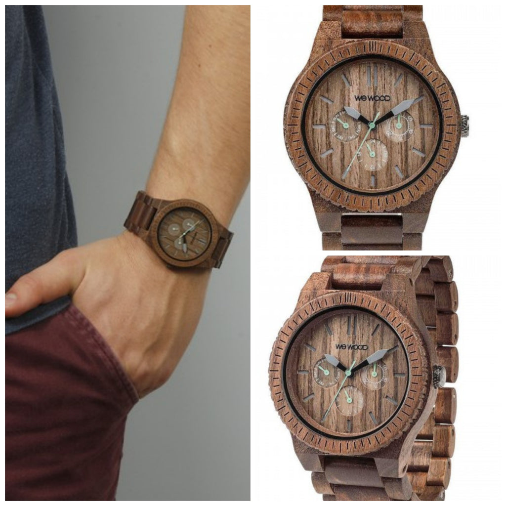 Nothing hotter than the Kappa Nut Eco Friendly Wewood Wood Watch!