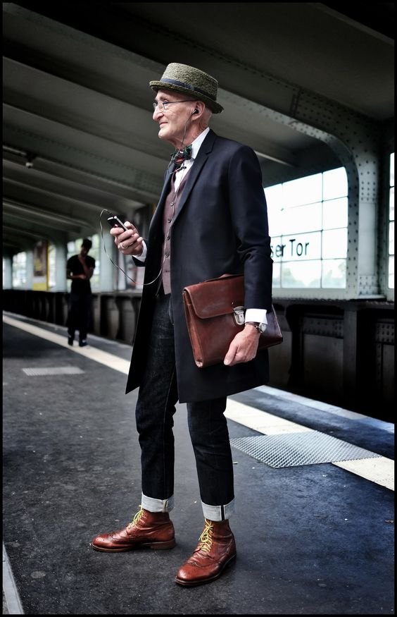 Stylish old man - how to stay stylish as you grow older