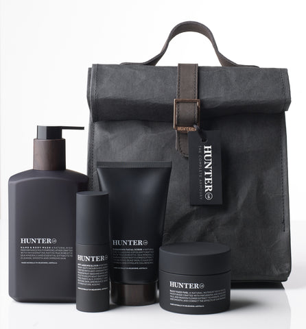 Hunter Lab The Complete Armoury Skin Care Set for Men. Made in Australia.