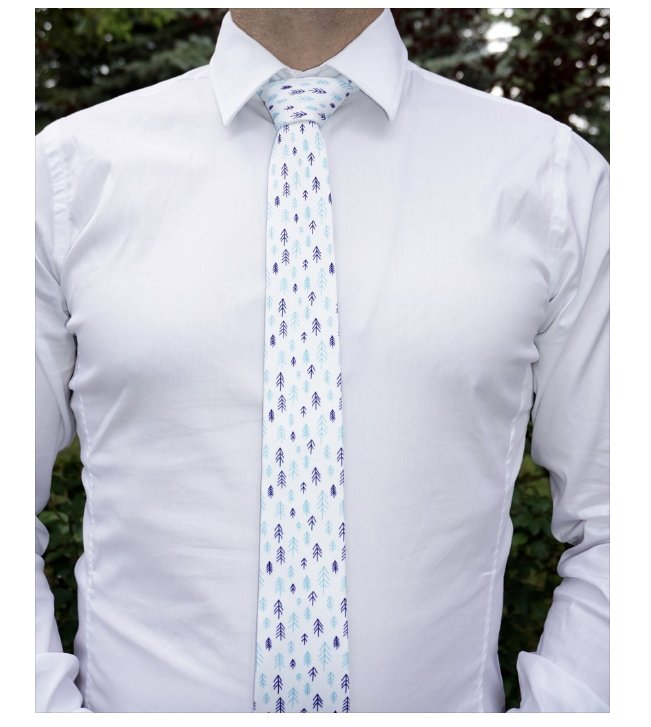 The Wood Necktie for Men Calgary Alberta Fashion