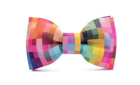Colourful Summer Bow Tie