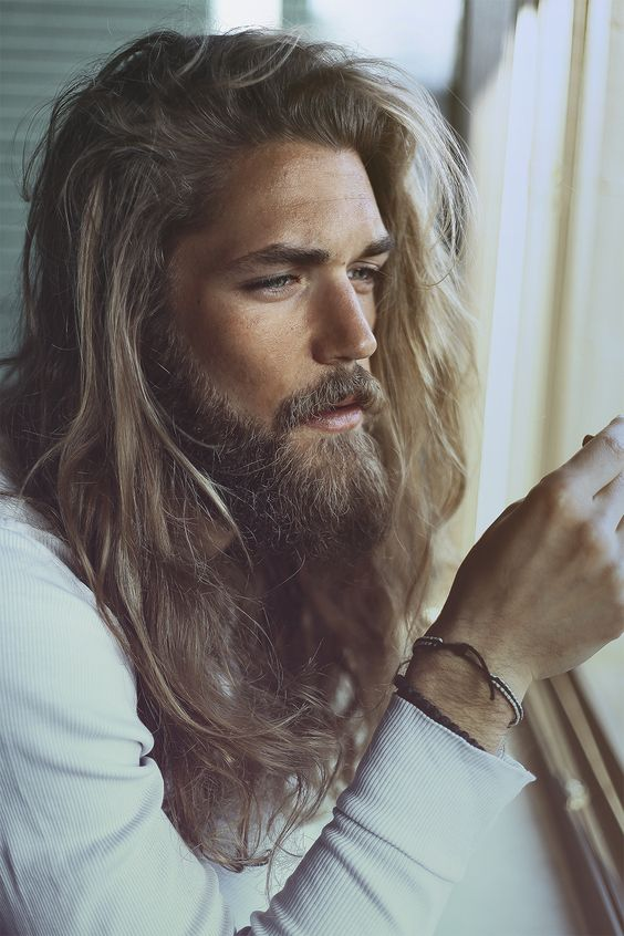 Beard Styles - the full beard  - Jesus Beard