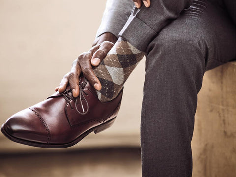 Sock Colours and looking stylish - Mule Ties