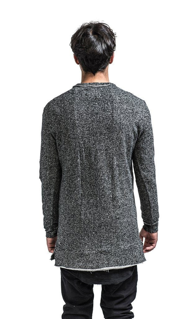 Kollar Clothing The Dean Pullover - Charcoal Grey - Mule Ties