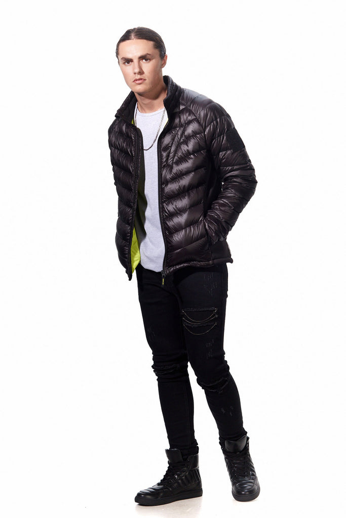 BURNTLIME HELIUM LIGHT DOWN JACKET - Mule Ties