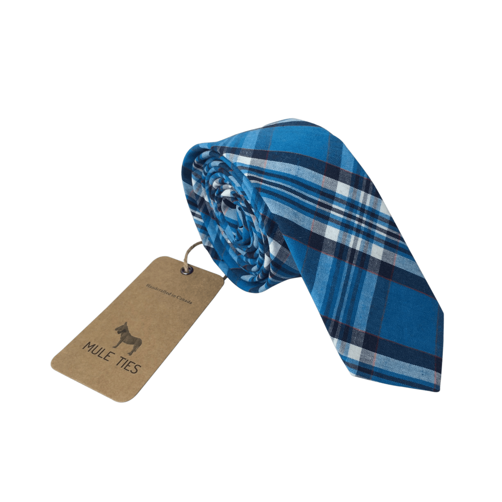 True Blue - Mule Ties