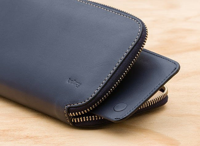 Bellroy Carry Out Wallet in Steel Blue - Mule Ties