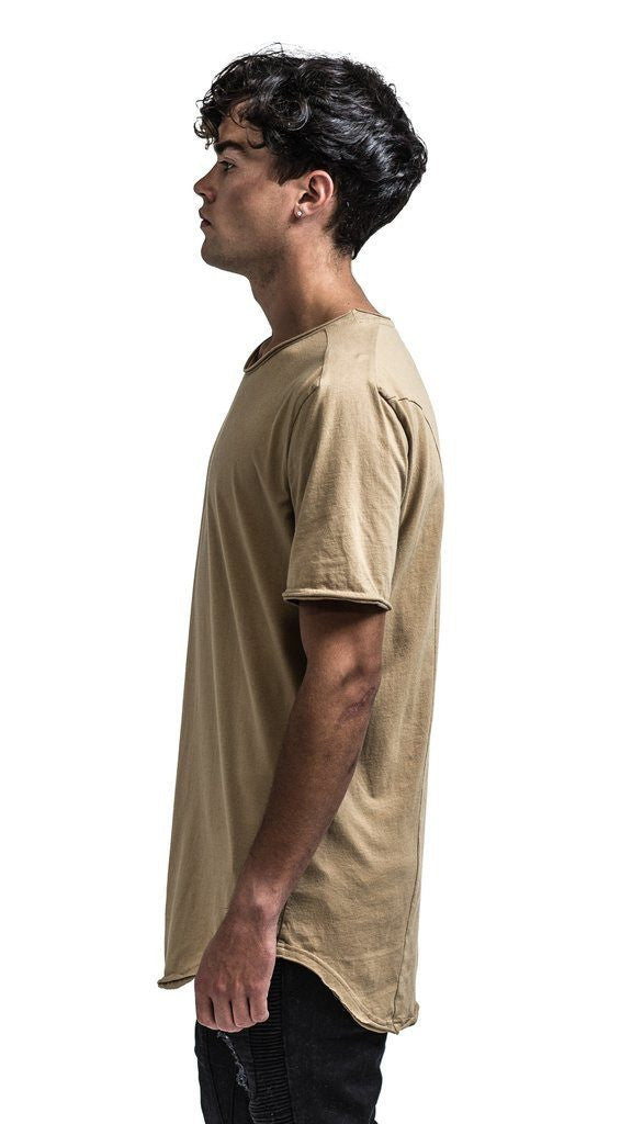 The Layston Essential Tee - Burnt Tan - Mule Ties