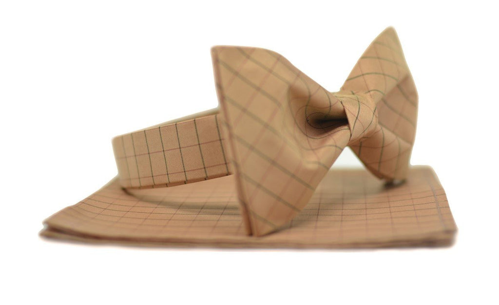 Butterscotch Bow Tie - Mule Ties