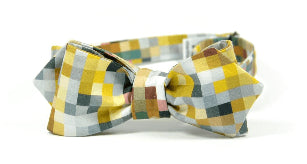 Fall It Is Pixelated Bow Tie - Mule Ties