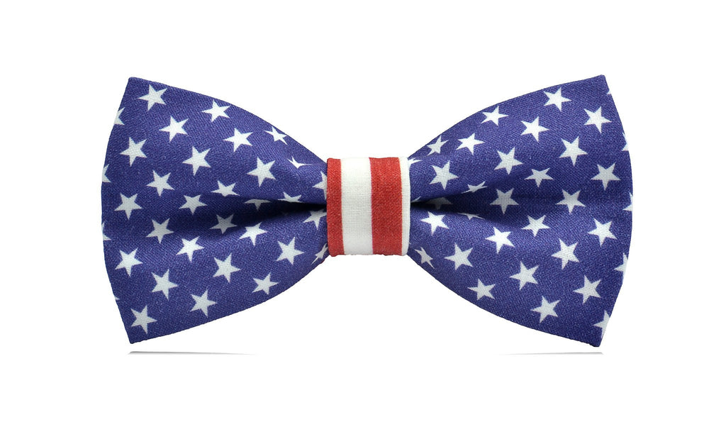 0643f46a174f American Flag Ready-to-wear Bow Tie - Mule Ties