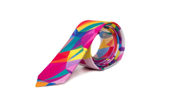 Aden Colourful Casual Skinny Neck Tie - Mule Ties