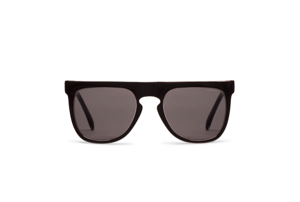 Komono Bennet Black Transparent Sunglasses - Mule Ties
