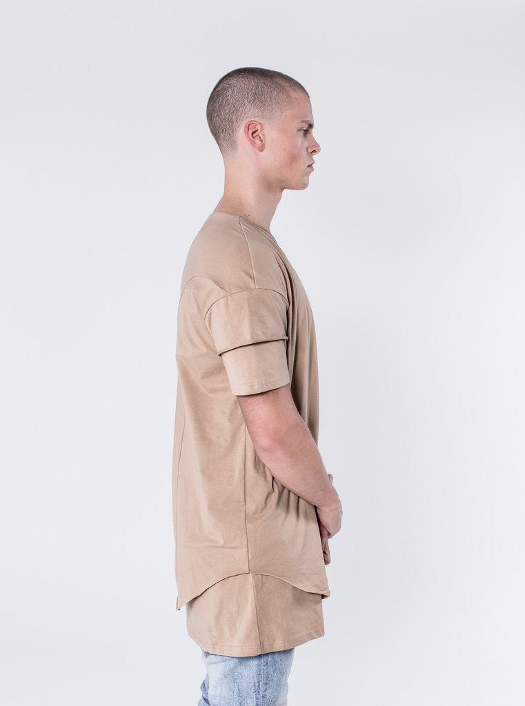 SLUGGER - CREME ( DROP SHOULDER ) - Mule Ties