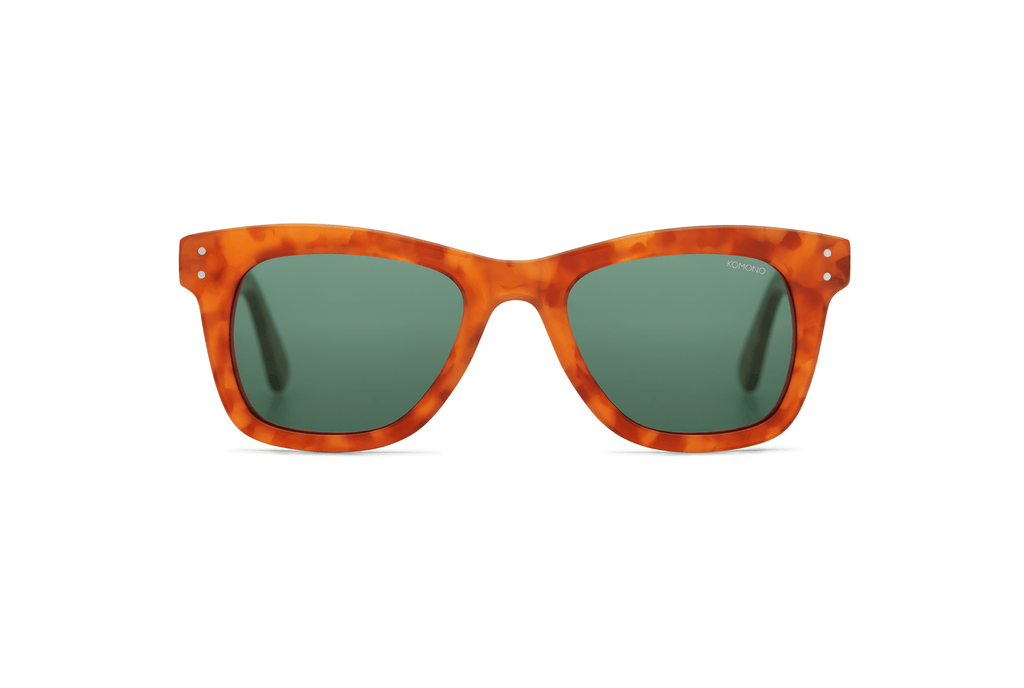 Komono - The Allen Caramel Demi Sunglasses - Mule Ties