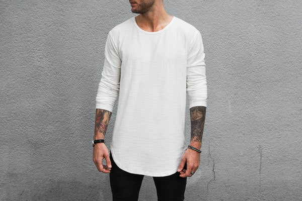 Scooped Long Sleeve x Off White - MuleTies - 1