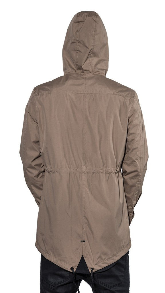 KOLLAR CLOTHING PIERCE - SAND KHAKI - WATERPROOF RAIN JACKET - MuleTies - 2
