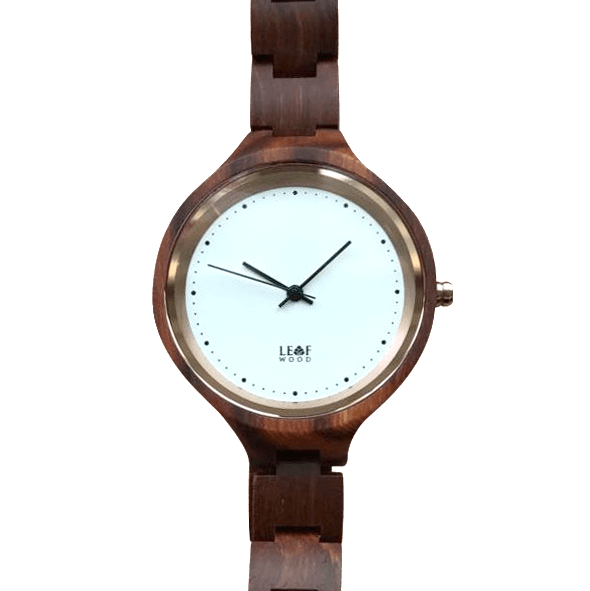 Leafwood Virago Ladies Wood Watch