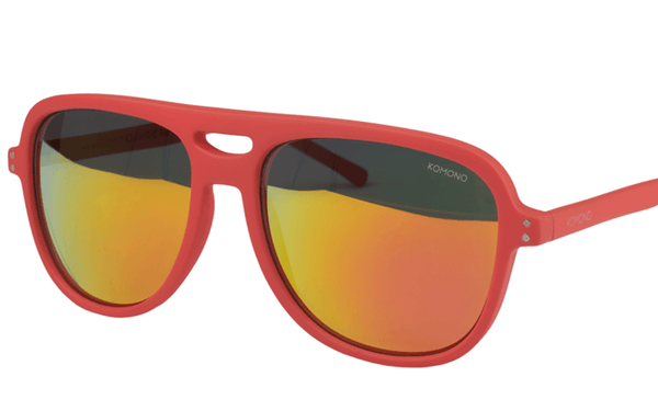 Komono Rafton Brick Red Sunglasses - Mule Ties